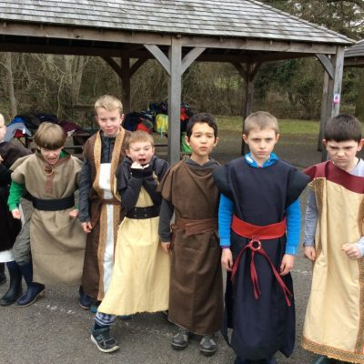 Dressing up as Anglo-Saxons