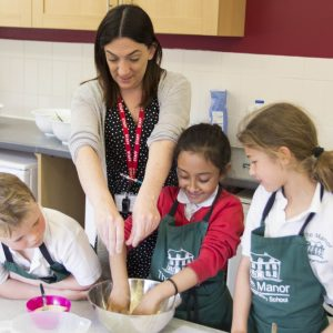 Cookery at The Manor