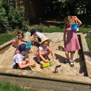 Our sandpit