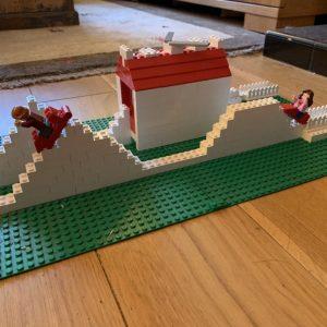 Mrs Scott's Lego roller coaster