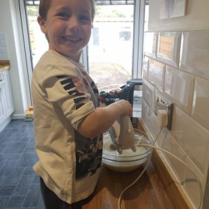 Making cakes