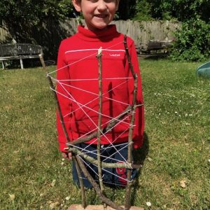 My Andy Goldsworthy sculpture