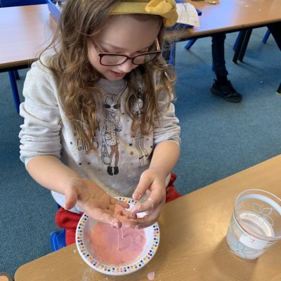 Cornflour and water - is it liquid or solid?